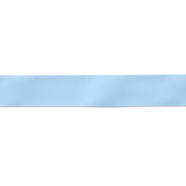 Ruban de satin uni – bleu clair