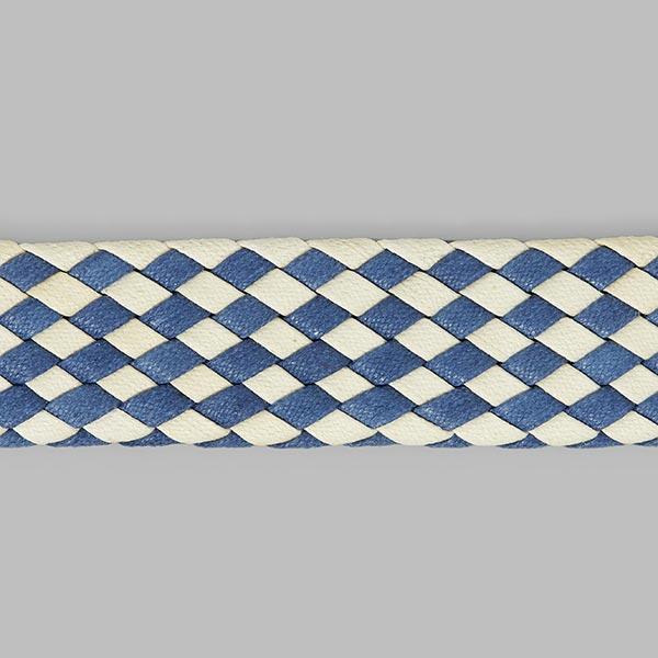 Sangle de ceinture 2 - bleu/blanc