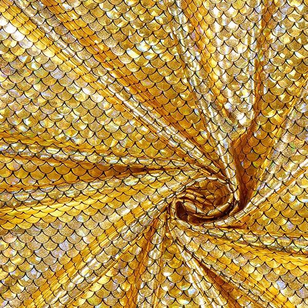 Folienstoff in Gold