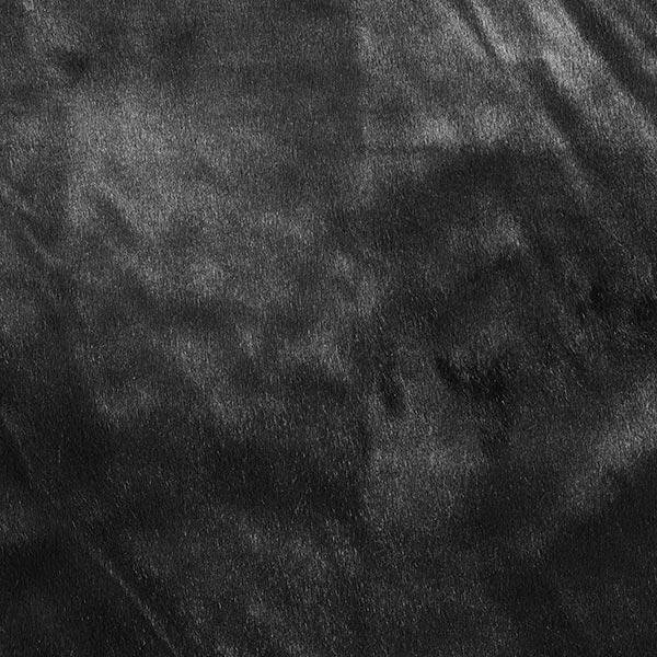 Fourrure synthétique Puma – noir - Restes de tissus- tissus.net