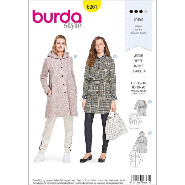 cartamodello cappotto lana