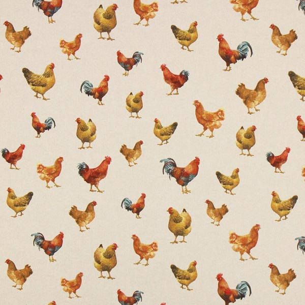 Hühner-Stoff für die Osterzeit