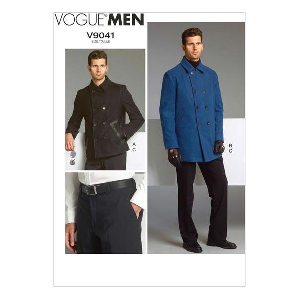 Jacka Byxor, Vogue 9041   44 56 Mönster Herr tyg.se