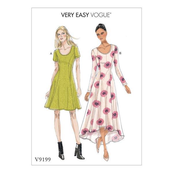 mönster klänning st 120 gratis