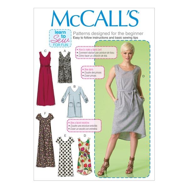 Klänningar Bälte, McCalls 7120   32 50