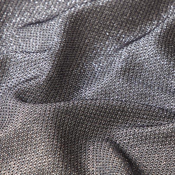 Metallic Lurex Glitter Fabric – black - Polyester ...