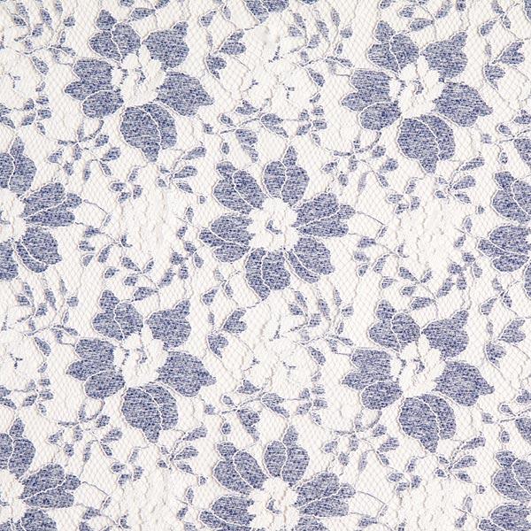 separation shoes a7e3f 36097 morbido pizzo di tulle, fiori – bianco/blu