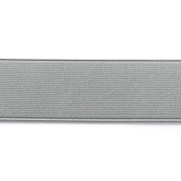 grande vendita super economico design innovativo nastro elastico per cinture, brillante - argento
