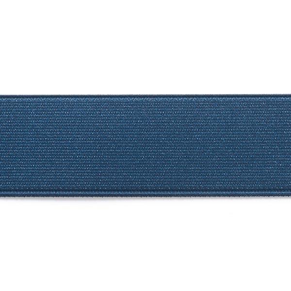 100% qualità migliore qualità vendita outlet nastro elastico per cinture, brillante - blu marino