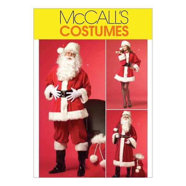Schnittmuster für Weihnachtskostüme