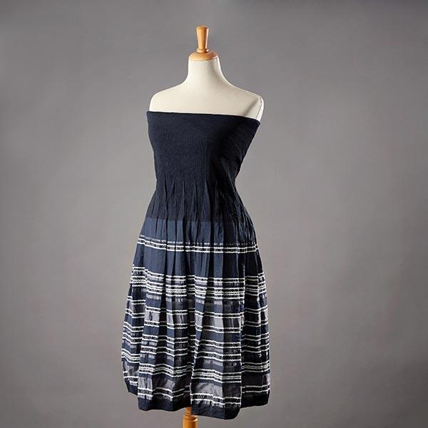 33c52e9ec Panel para vestido y falda Rayas – azul marino
