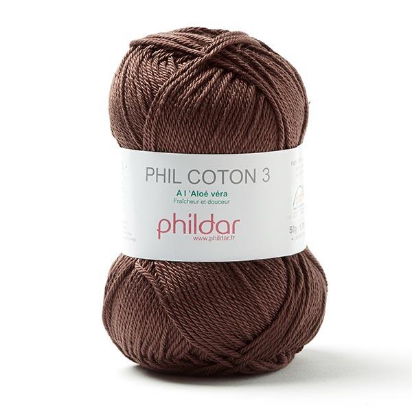 Phil Coton 3 50 G Phildar Cacao