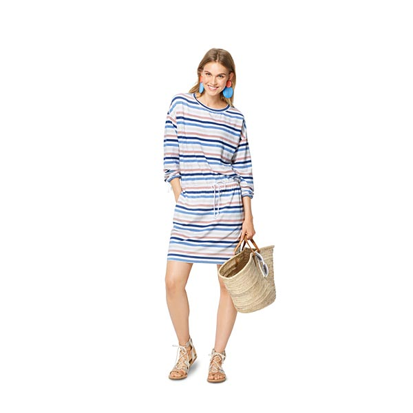 Robe Shirt Robe A Capuche Burda 6310 36 46 Patron De Couture Robe Tissus Net