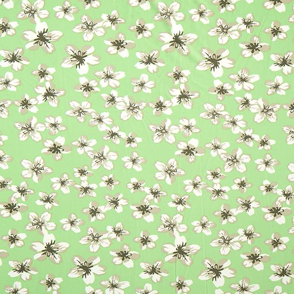 Blusenstoff in Apfelgrün