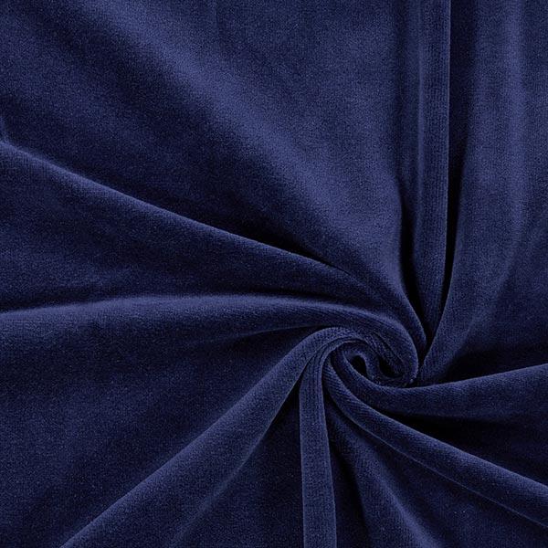Tecido Aveludado Nicki Azul Marinho