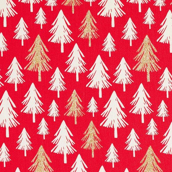 Immagini Natale Glitter.Tessuto Arredo Cretonne Alberi Di Natale Glitter