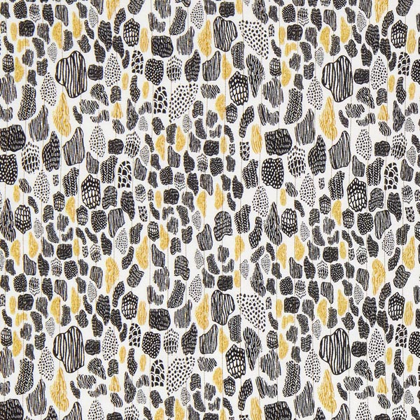 best service 3e91b 6ee72 tessuto per camicette fantasia, righe lurex – oro/nero