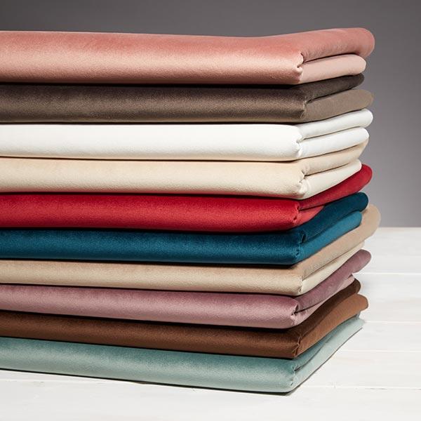 Tessuto per rivestimento e tappezzerie velvet plus beige for Cretonne per arredamento e tappezzerie