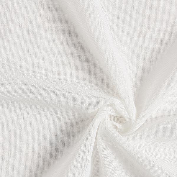 Tende A Vetro Bianche.Tessuto Per Tende A Vetro Voile Ibiza Bianco