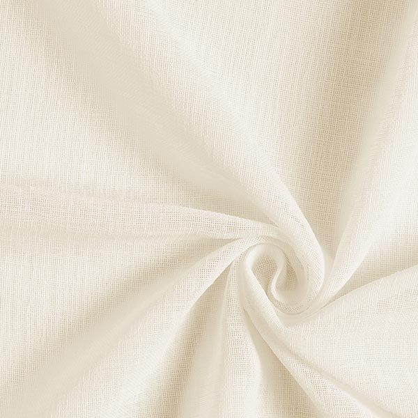 Tende A Vetro Bianche.Tessuto Per Tende A Vetro Voile Ibiza Bianco Lana