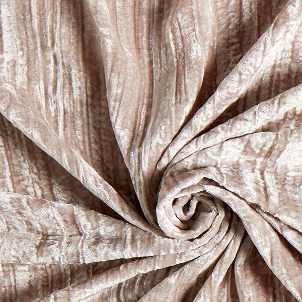 b54d4d663d95 velluto panné effetto stropicciato – grigio argento - Velluto Panné ...
