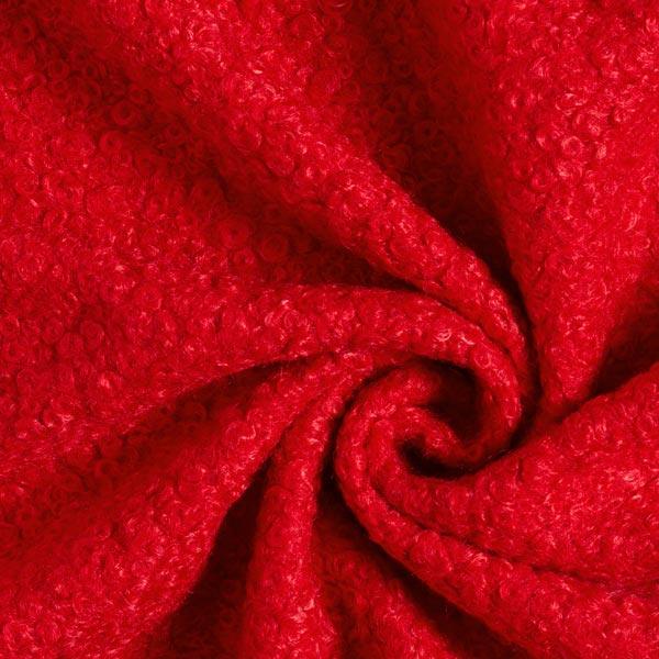 Roter Mantelstoff für Weihnachtsfrau- und Weihnachtsmannkostüm