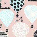 Jersey Ballong – gammelrosa