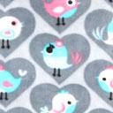 Flausch Småfåglar – grå