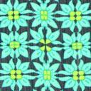 Tela para blusas Mandala floral 2