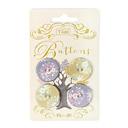 Tilda Autumntree – juego de botones 25 mm