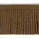 Fransenband Wildlederimitat - 3 cm, 3