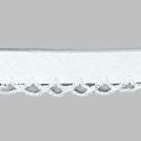 Schrägband mit Häkelborte 1