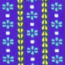 Blusenstoff Blau der Könige