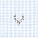 Algodón Cuadros ciervo 3