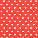 Classic Hearts 0,5 cm, 8