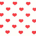 Classic Hearts 1,5 cm, 2