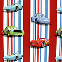 Disney's Cars Stripes 1