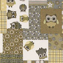 Eule Patchwork 2