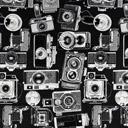 Jacquard Máquina de fotos antigua