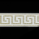 Lurex Greek Ribbon 3
