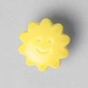 Botón de material sintético, Cara del sol 38