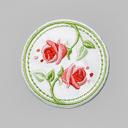 Tía Ema Appliqué Rosas 2