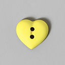 Botón de tejido sintético Little Heart 38