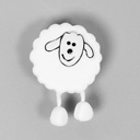 Plastic button, Sheep 12