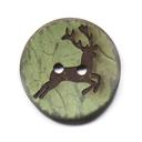 Botón de coco Ciervo 2