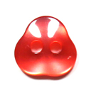 Botón de material sintético Mini Triangle 7