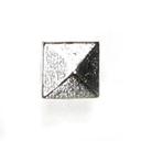 Remache de pirámide – Botón de metal 1