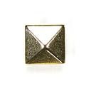 Remache de pirámide – Botón de metal 2