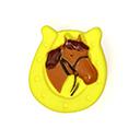 Kunststoffknopf Horsey 3