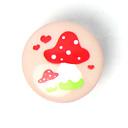 Botón Tante Ema – Amanita muscaria 5